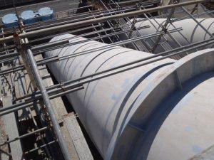 日野谷発電所 水圧鉄管塗装 施工前