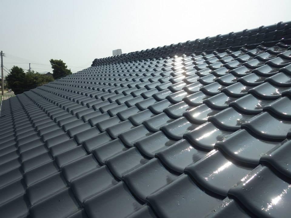 屋根塗装工事イメージ