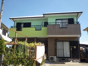 宮本邸屋根・外壁塗装工事 施工後