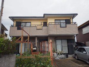宮本邸屋根・外壁塗装工事 施工前