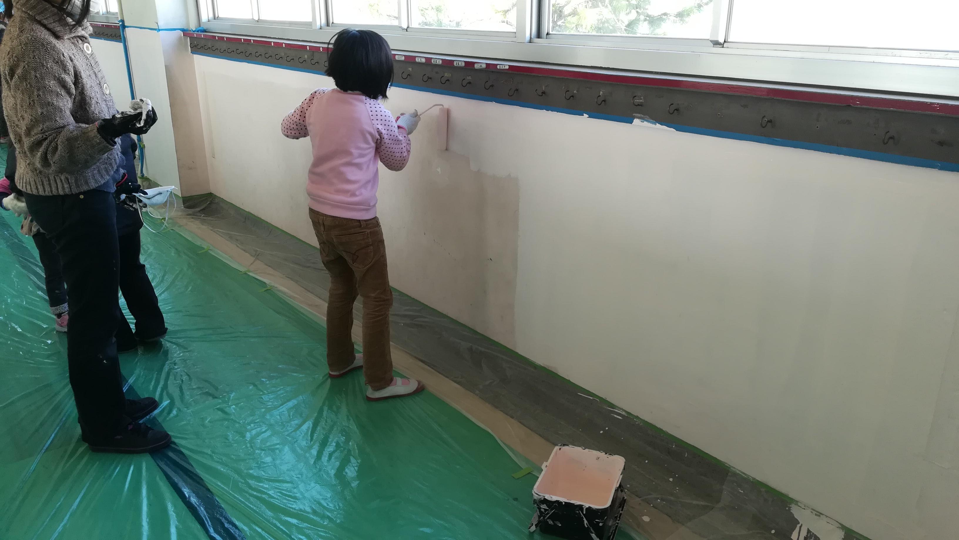 ボランティア塗装4